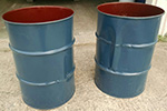 55 Gallon Shop or Trash Barrel